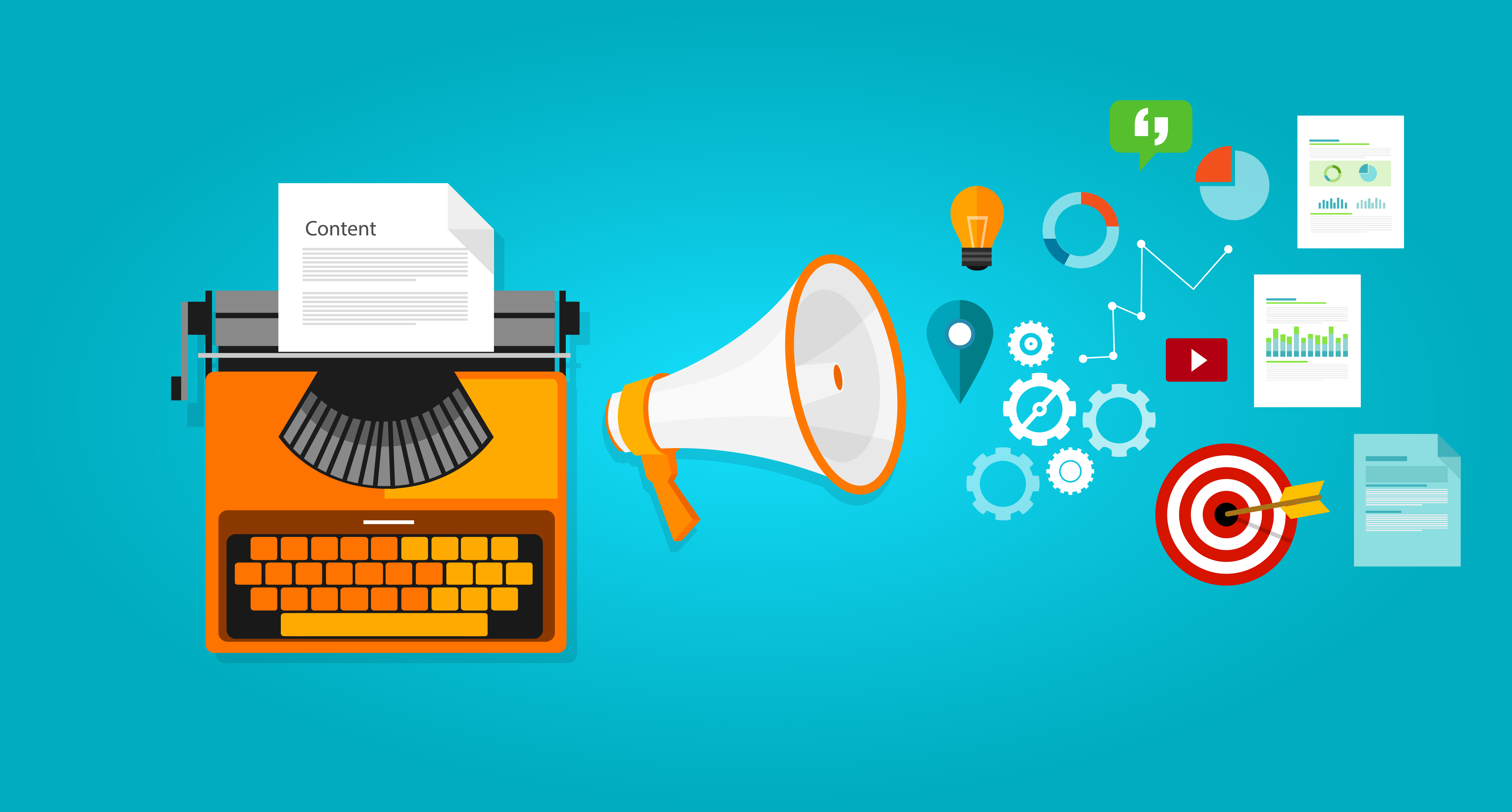 Content writing for a website
