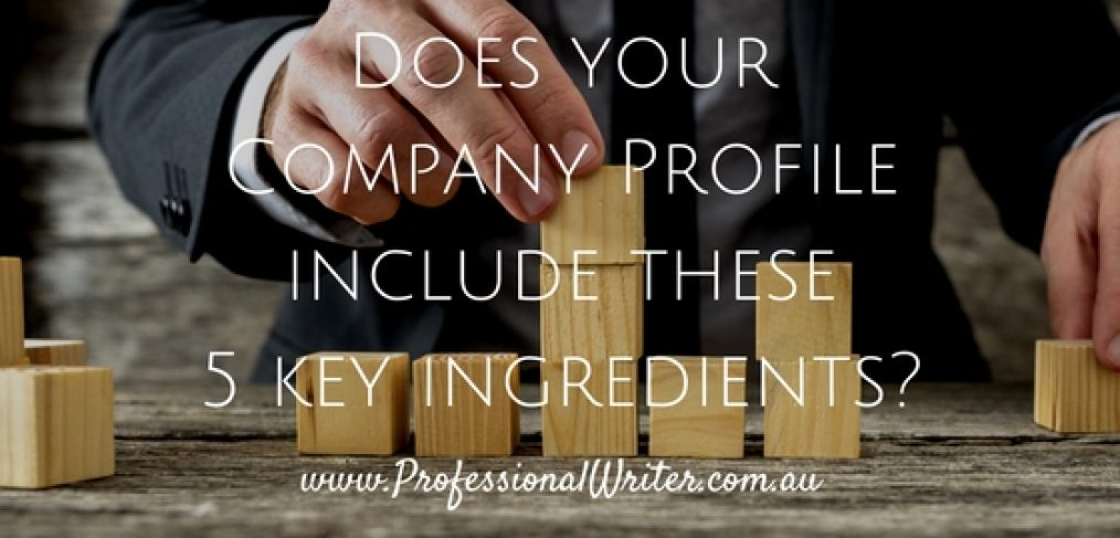 How to write an Engaging Company Profile The Professional Writer – Write Company Profile Template