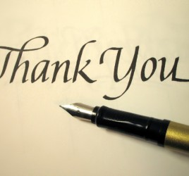 Power of thank you to grow real estate business