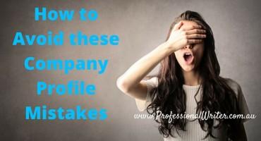Company profile mistakes to avoid, Company profile tips, How to write a Company profile, Professional Writer
