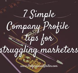 Simple Company Profile tips, Company Profile writing tips, Professional Writer, How to write a Company Profile, Company profile help, small business marketing, Lyndall Guinery-Smith