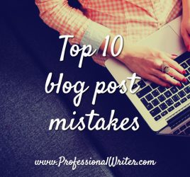 Blog post ideas, Blog post mistakes, help writing blog posts, professional writer, Lyndall Guinery-Smith