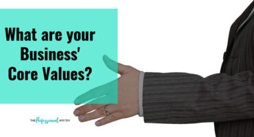 Business core values, why your business core values matter