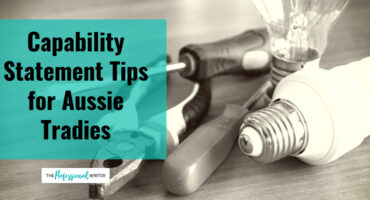 Capability statement tips for Australian tradies, how to write a capability statement Australia