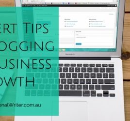 Blogging for business, business blogging tips, how to write a business blog post