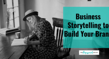 Business storytelling, brand story, professional writer