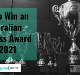Win an Australian Business Award 2021, award writer