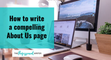 Write a compelling About Us page, professional writer, business storytelling